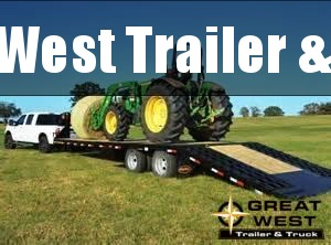 2018 Big Tex Trailers 35ft Hydraulic Dove Tail Flatbed/ Equipment Trailer