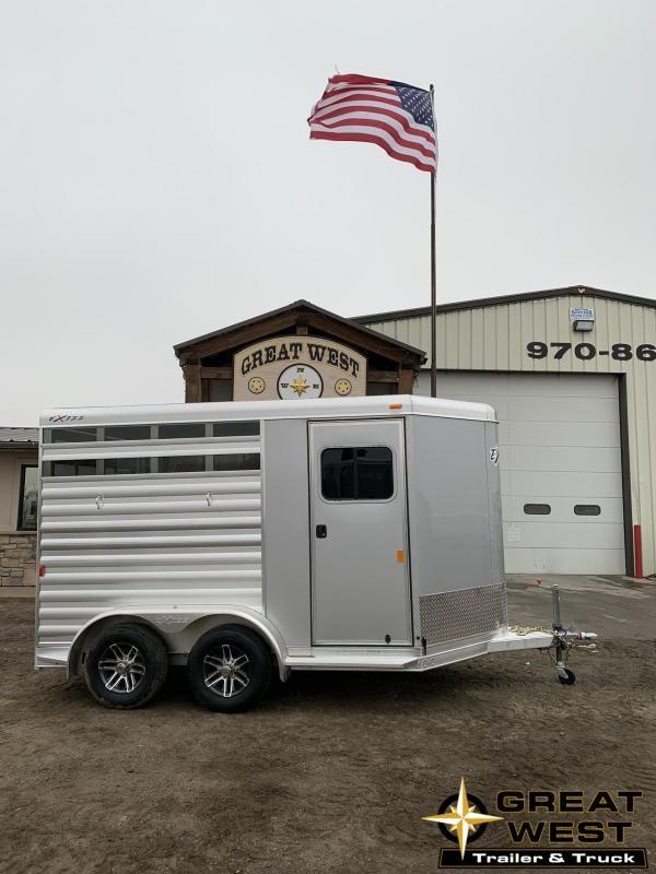 2019 Exiss Express 2 Horse Bumper Pull Trailer