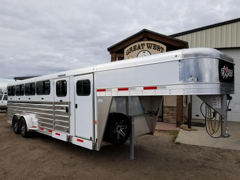 2018 Exiss Trailers Exhibitor 24ft 10 Pen Goat/Sheep/Pig show trailer Livestock Trailer