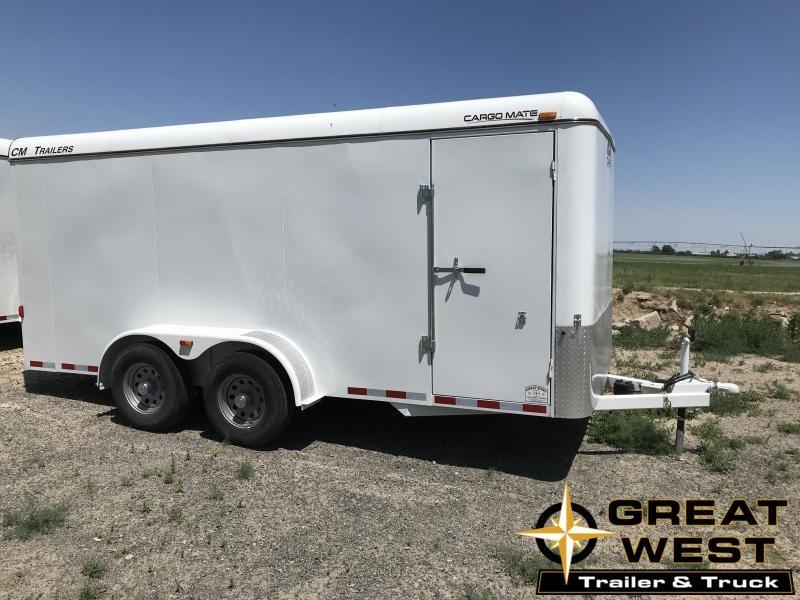 2018 CM 16 Cargo Enclosed Cargo Trailer