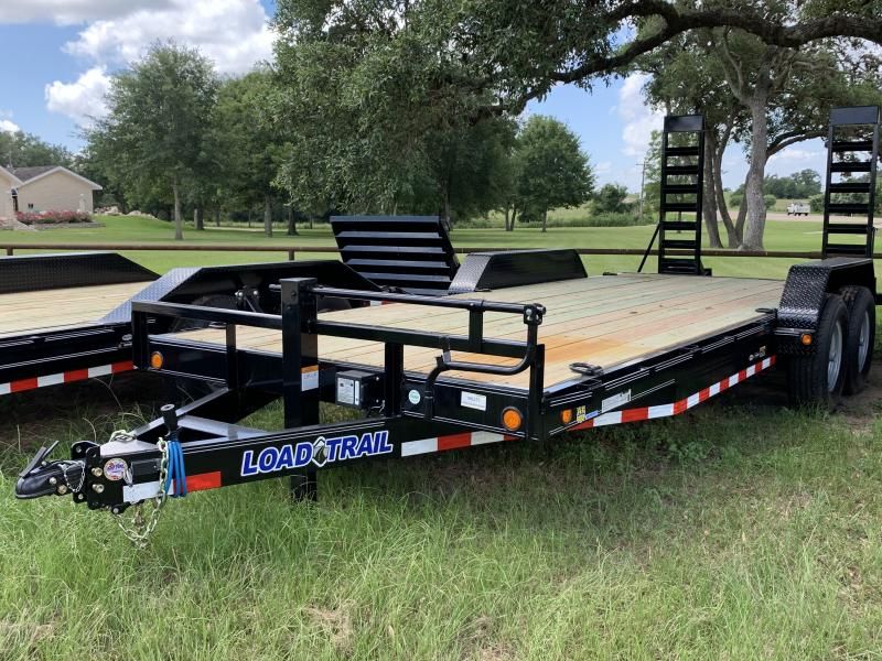2019 Load Trail 83X20 2' DOVE WITH STAND UP RAMPS