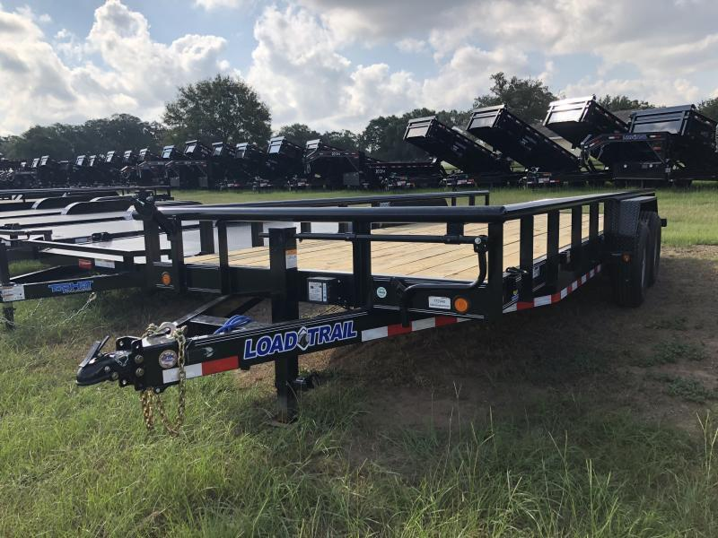 2019 Load Trail 83 x 20 Tandem Carhauler w/Side Rails