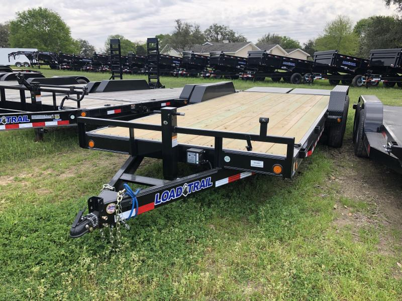 2019 Load Trail 20' LOWBOY MAX RAMPS