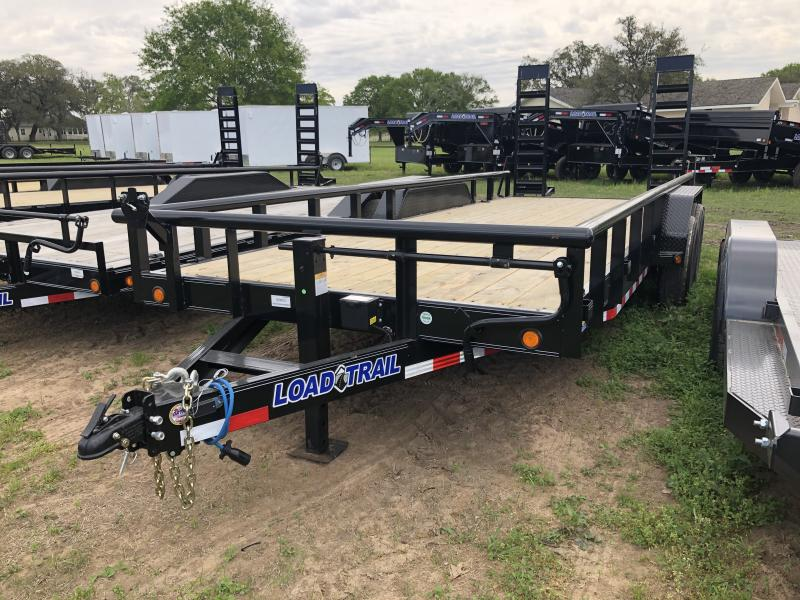 2019 Load Trail 20' PIPETOP W/ STAND UP RAMPS