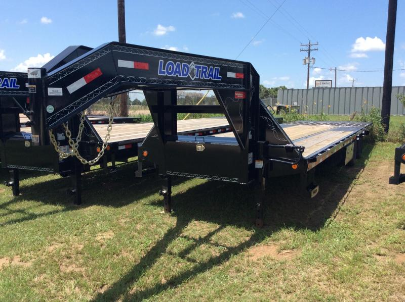 2018 Load Trail 32 Tandem Low-Pro Gooseneck w/Hyd. Dove Trailer