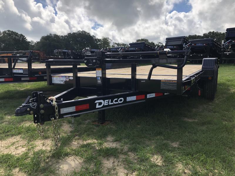 2019 Delco Trailers 83 X 18 Tandem Axle Tilt Deck