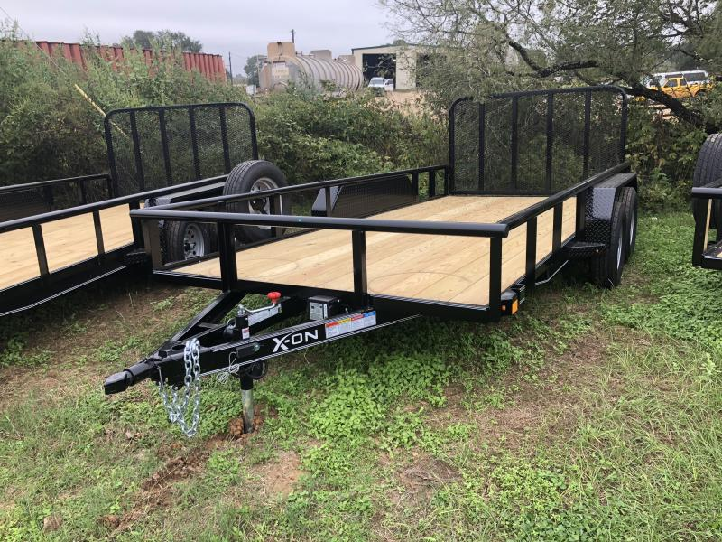 2018 X-On 83x16 Pipe Top Utility Trailer