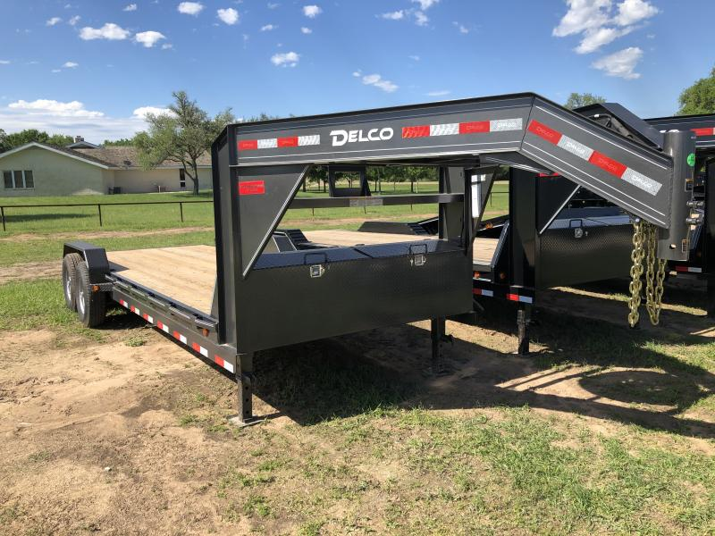 2019 Delco Trailers 83X22 14K W/ SLIDE IN RAMPS