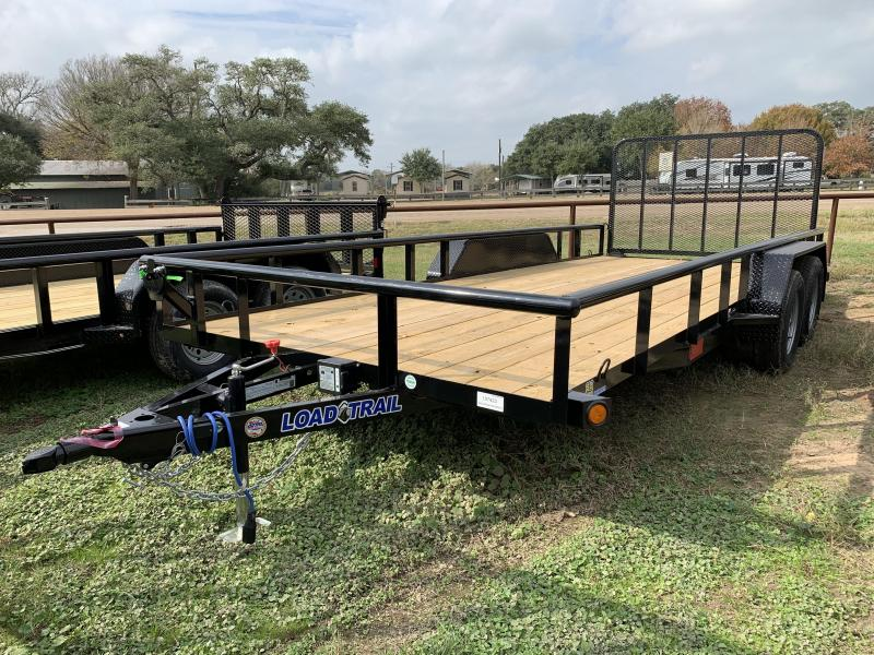 2020 Load Trail 83X18 PIPETOP 4' GATE