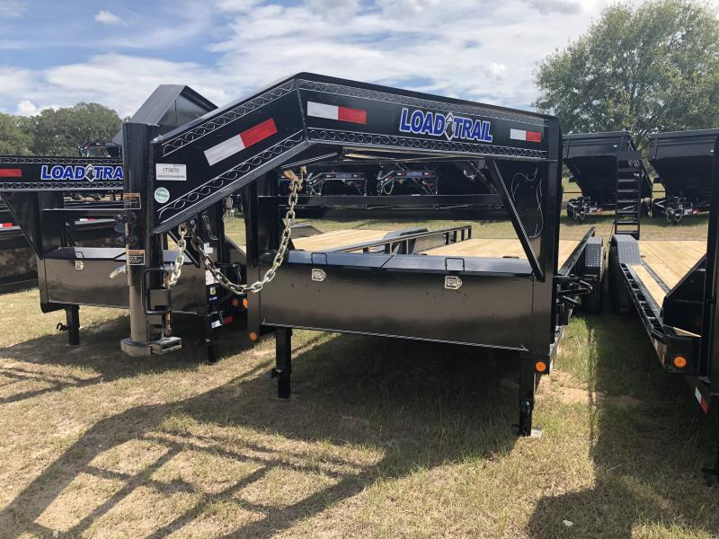 2019 Load Trail 83 x 24 Tandem Gooseneck Carhauler w/Side Rails