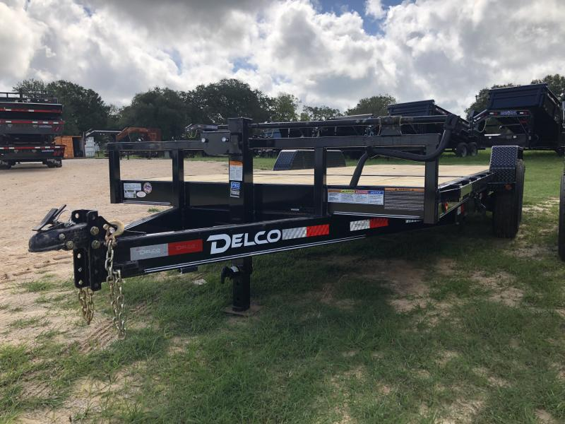 2019 Delco Trailers 83 X 20 Tandem Axle Tilt Deck
