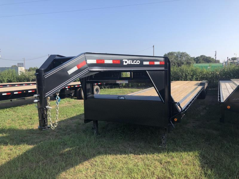 2018 Delco Trailers 102 x 40 Triple Axle Carhauler / Racing Trailer