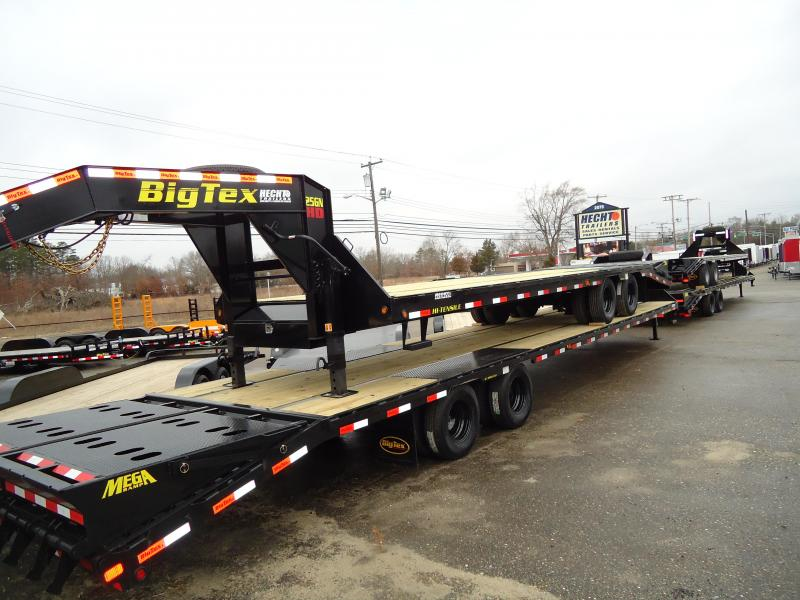 2018 Big Tex Trailers EH 8.5X30 25GN 25BK+5MR MEGA BLACK Equipment Trailer