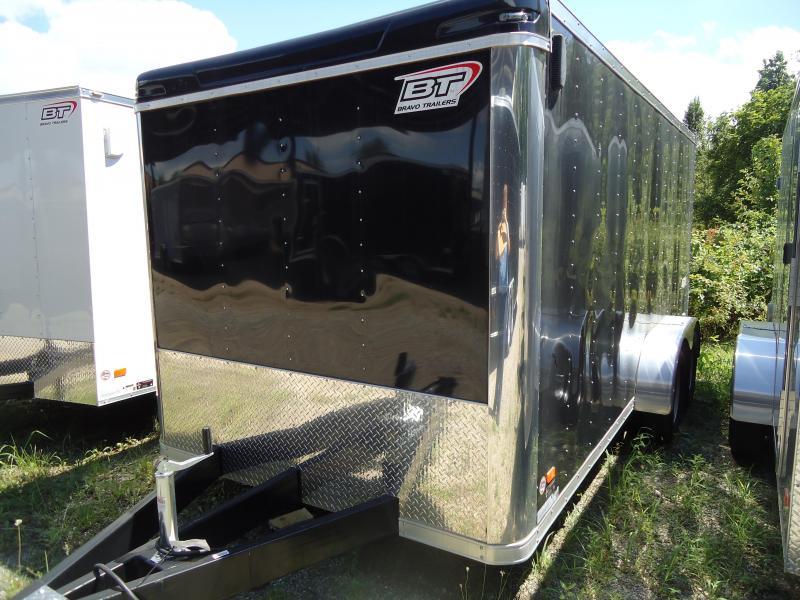 2015 Bravo Trailers 7X16 ST TA2 LND SCP BLACK Enclosed Cargo Trailer
