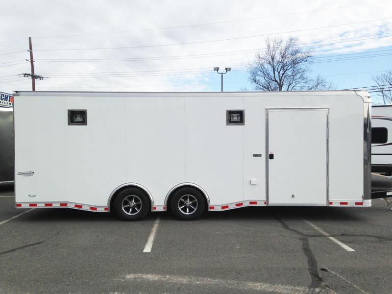 2017 Bravo Trailers 8.5X24IC TA3 54TUNG TOP GUN CARPET Enclosed Cargo Trailer