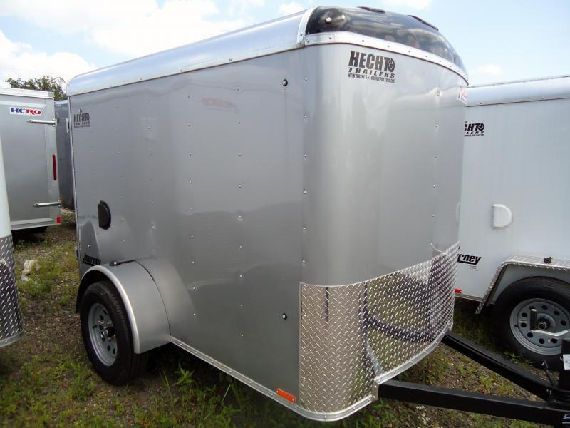 2019 Pace American 5X8 JT SI2 RAMP SVNTS SILVER Enclosed Cargo Trailer