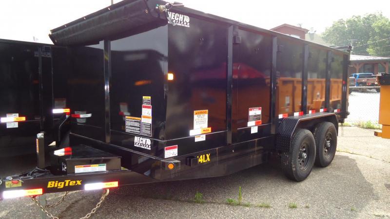 2020 Big Tex Trailers DT 7X16 14LX 16BK 7SIR P4 BLACK Dump Trailer