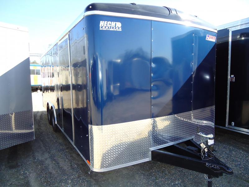 2019 Pace American 8.5X20 JT TE2 RAMP SVNTS DOME BLUE Car / Racing Trailer