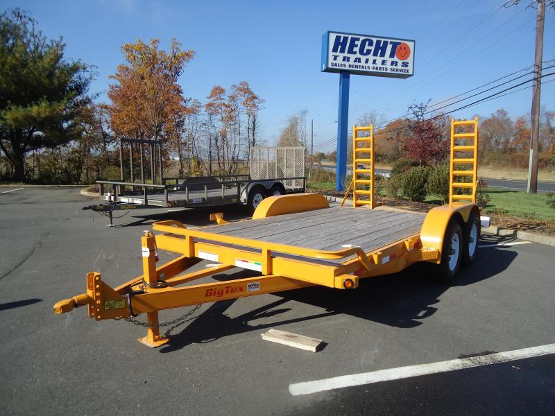 2016 Big Tex Trailers EH-7X16 10ET-16KRYE KNEE RAMPS Equipment Trailer