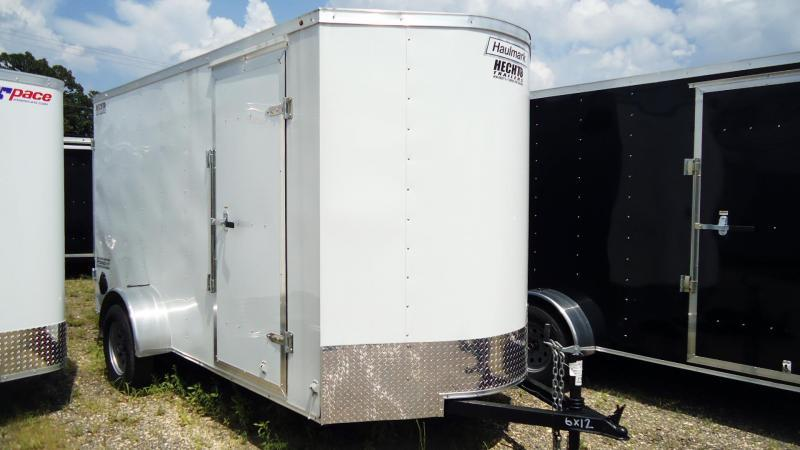 2020 Haulmark 6X12 PPT S2 WHITE Enclosed Cargo Trailer