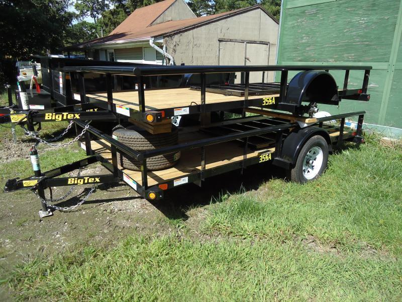 2018 Big Tex Trailers UT 6.5X12 35SA-12BK4RG BLACK Utility Trailer