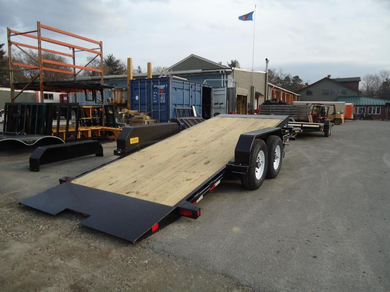 2018 Big Tex Trailers EH 7X20 14FT-20BK BLACK Equipment Trailer