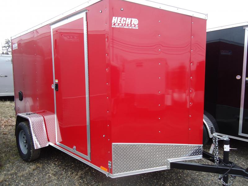 2018 Pace American 6X10 OBDLX SI2 RAMP SVNTS RED Enclosed Cargo Trailer