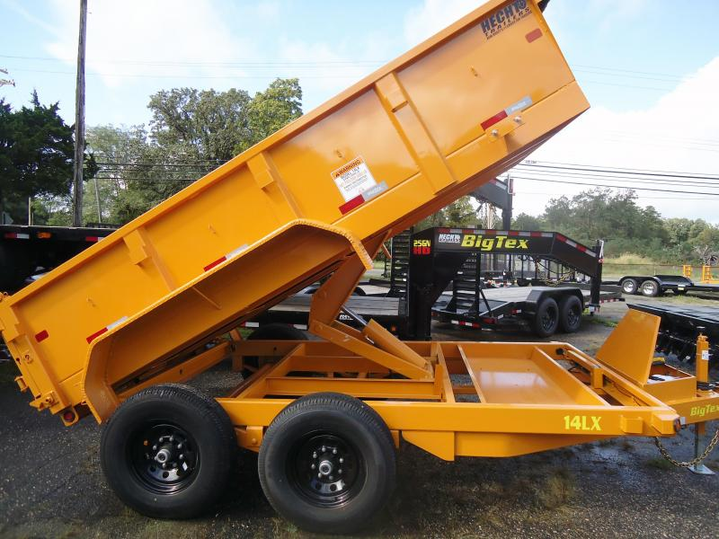 2019 Big Tex Trailers DT 7X12 14LX 12YE 7SIRPD TARP YELLOW Dump Trailer