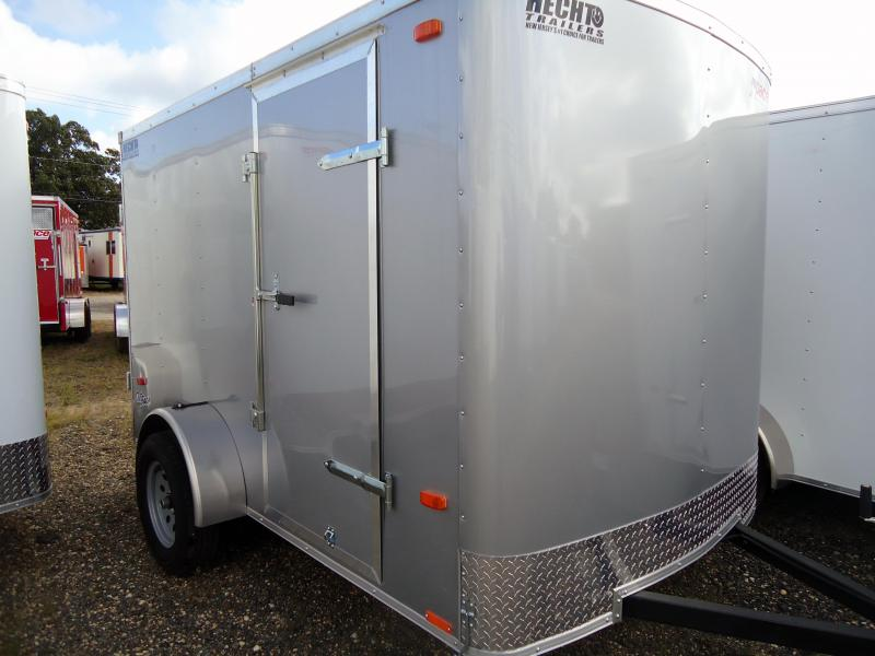 2019 Pace American 6X10 OB SI2 SILVER Enclosed Cargo Trailer