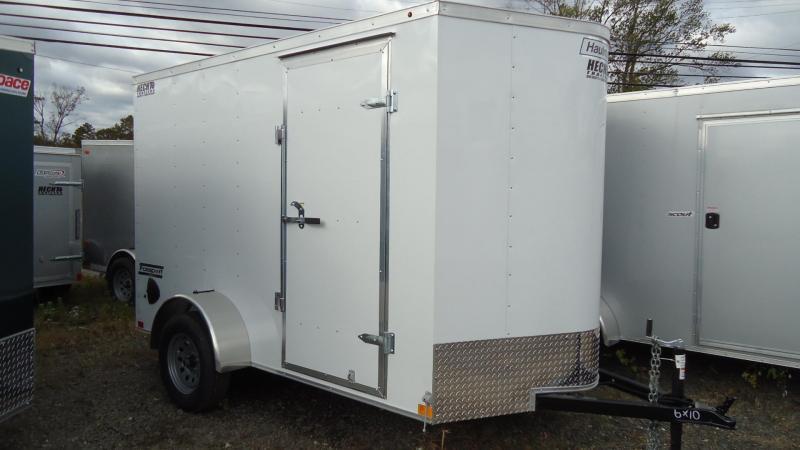 2020 Haulmark 6X10 PP S2 D RAMP WHITE Enclosed Cargo Trailer