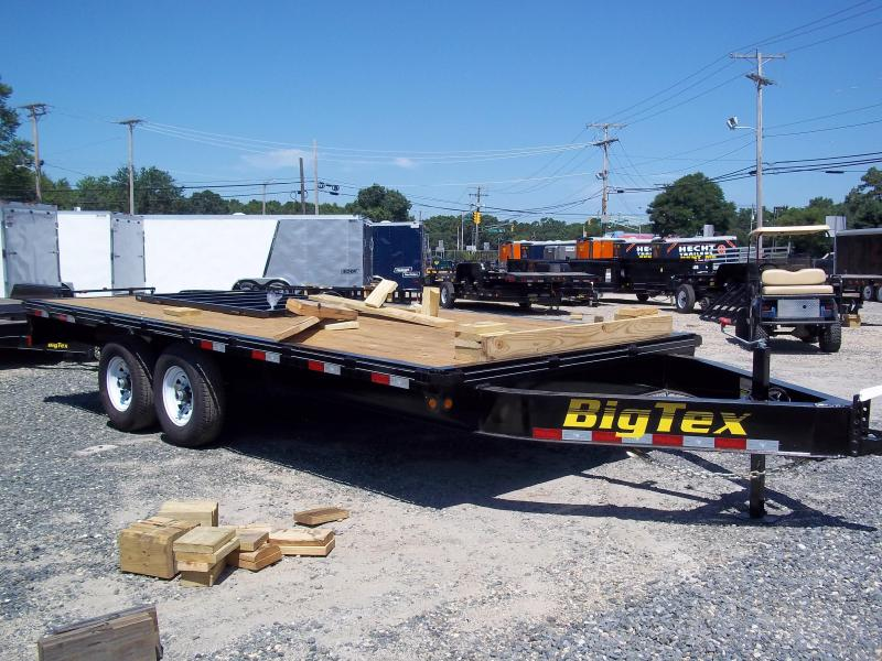 2017 Big Tex Trailers EH-8.5X18 14OA-18BK 8RSIR FLAT Equipment Trailer