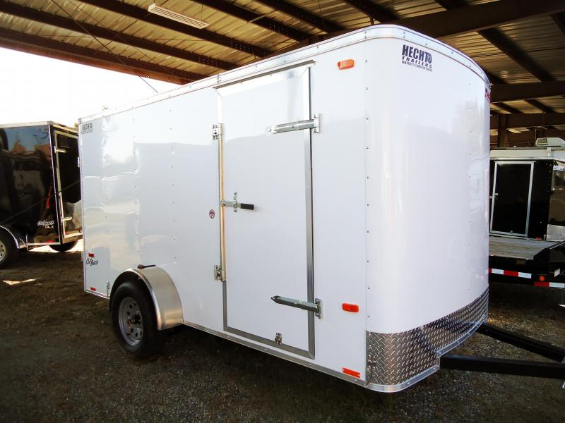 2019 Pace American 6X12 OB SI2 WHITE CARGO / Enclosed Trailer