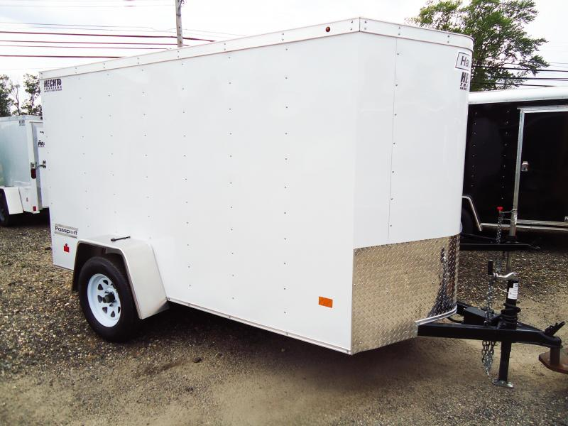 2017 Haulmark 5X10 PPT DS2 ELEC DRM BRK RAMP WHITE Enclosed Cargo Trailer