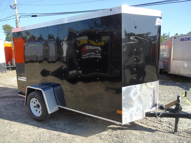 Haulmark 5X10 PPT DS2 BLACK CARGO / ENCLOSED TRAILER