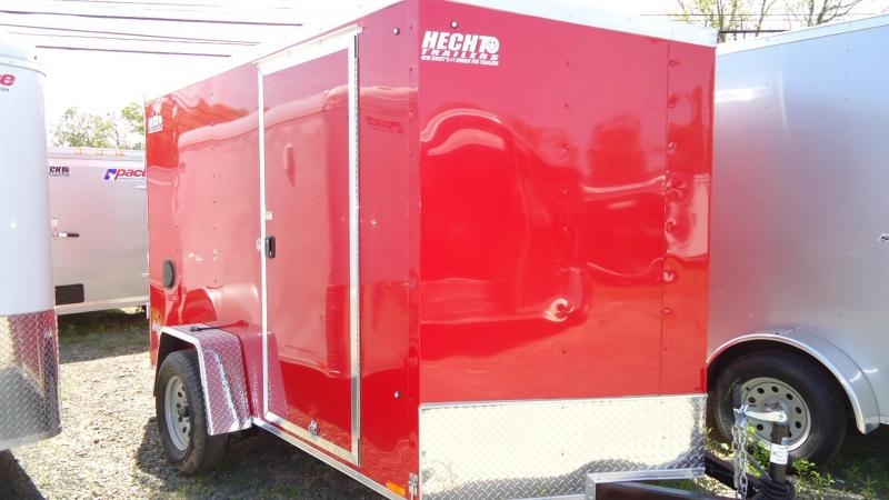 2020 Pace American 6X10 OBDLX SI2 24VS SVNT RED Enclosed Cargo Trailer