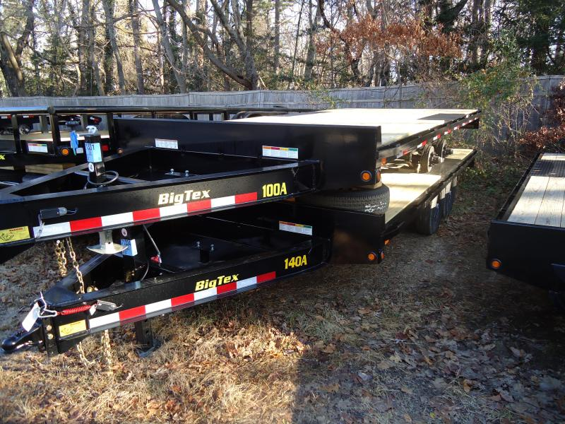 2019 Big Tex Trailers EH 8.5X18 10OA 18BK 8SIR BLACK Equipment Trailer