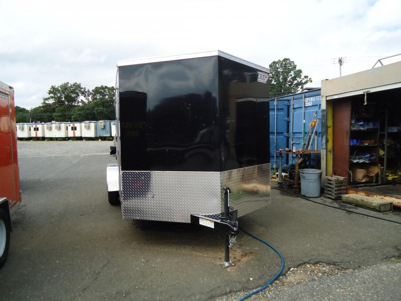 "2019 Bravo Trailers 7X16 SC TA2 30""V RAMP BLACK Enclosed Cargo Trailer"
