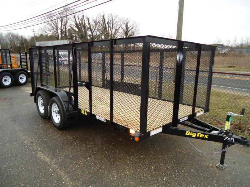 2018 Big Tex Trailers UT 6.5X14 50LA 14BK 4RG 4