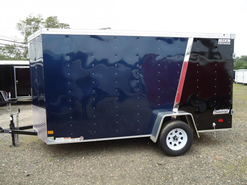 2017 Haulmark 6X12 TSTV DS2 BLUE BLACK CARGO ENCLOSED TRAILER