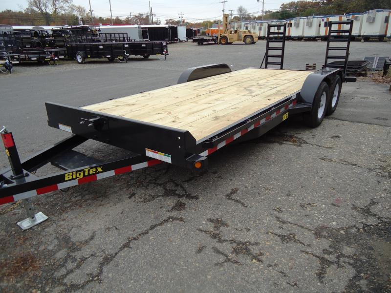 2018 Big Tex Trailers EH 7X20 10ET-20BK-KR KNEE BLACK Equipment Trailer