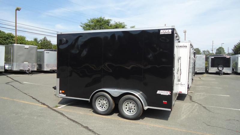 "2020 Bravo Trailers 7X12 SC TA2 6""X SCOUT+ BLACK Enclosed Cargo Trailer"