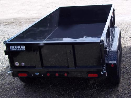 2017 Big Tex Trailers DT-5X10 70SR-10-5WDD DBL DOOR BLACK