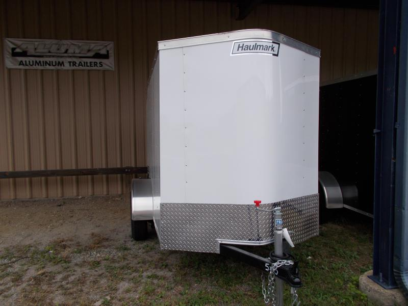 2020 Haulmark 5X8 PPT S2 WHITE Enclosed Cargo Trailer