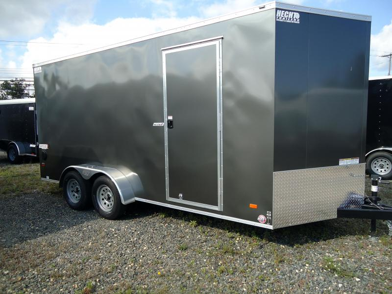 "2019 Bravo Trailers 7X16 SC TA2 V 12""X CHARCOAL Enclosed Cargo Trailer"