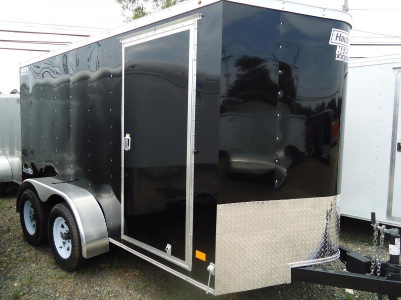 2017 Haulmark 6X12 PPT DT2 RAMP BLACK Enclosed Cargo Trailer