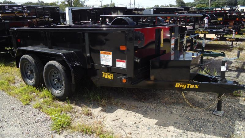 2020 Big Tex Trailers DT 5X10 70SR 109 5WDD BLACK Dump Trailer