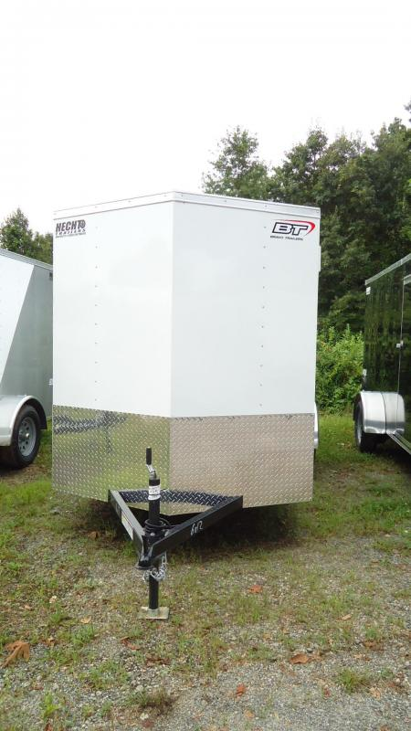 2020 Bravo Trailers 6X12 SC SA V RAMP WHITE Enclosed Cargo Trailer
