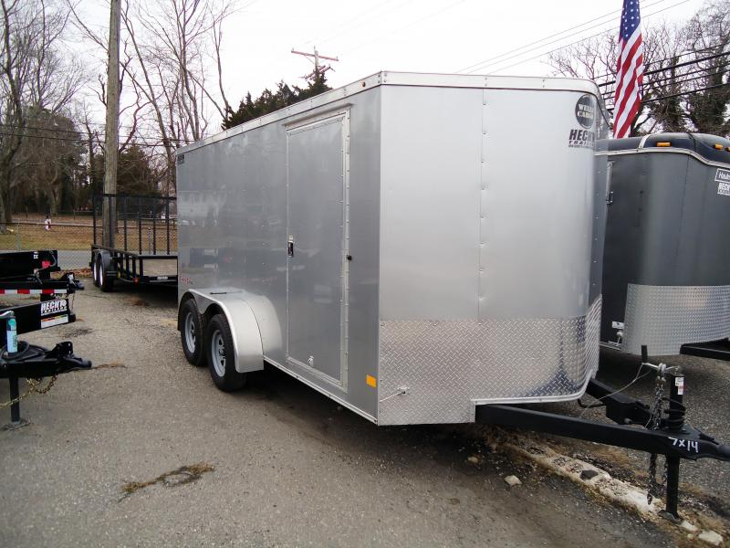 2017 Wells Cargo 7x14 FT Fasttrac Enclosed Cargo Trailer