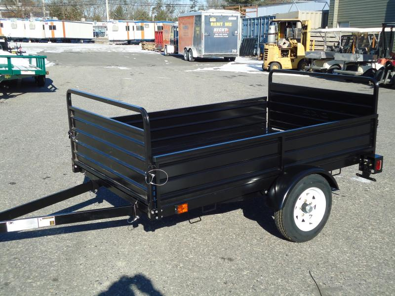 2017 DetailK2 UT 5X7 MMT BLACK Utility Trailer