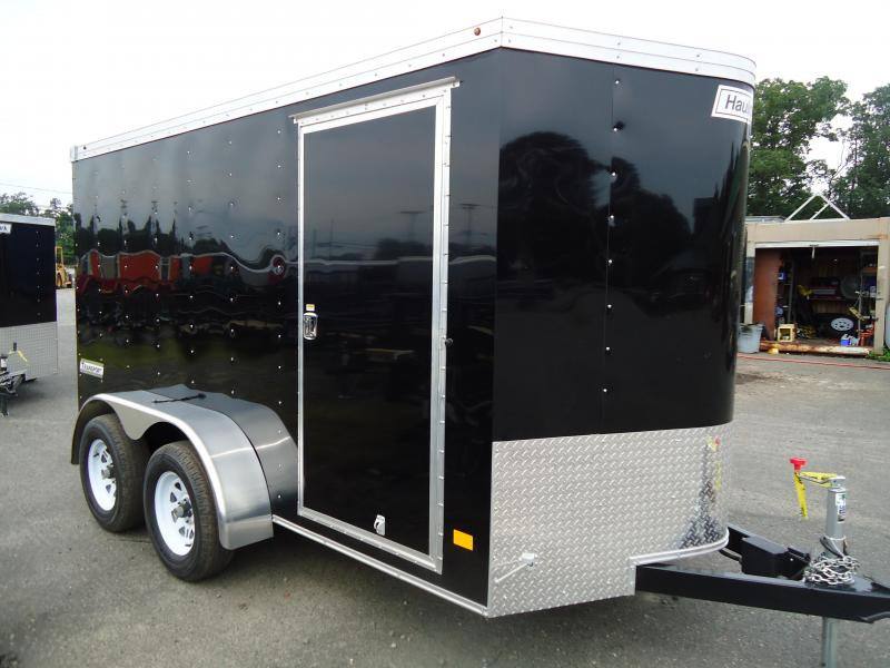 2018 Haulmark 6X12 TSTV DT2 RAMP BLACK Enclosed Cargo Trailer